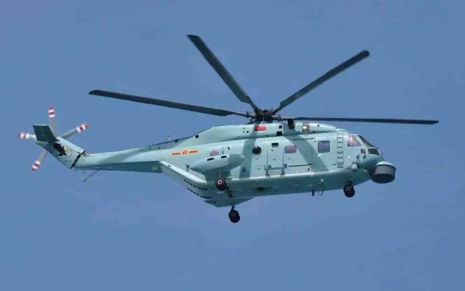 ▲直-18反潜直升机