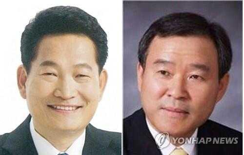 图注:宋永吉(左)郑淳官(右)