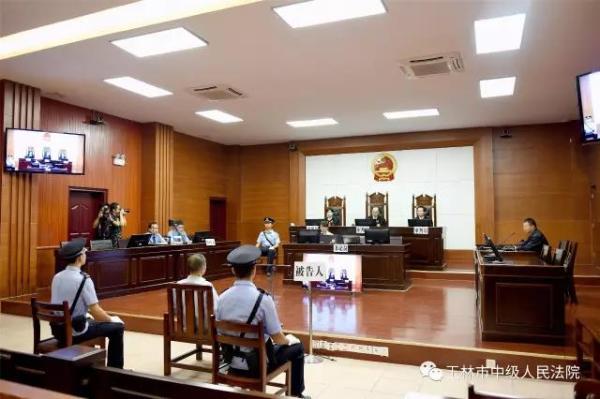 玉林市中级人民法院审理查明