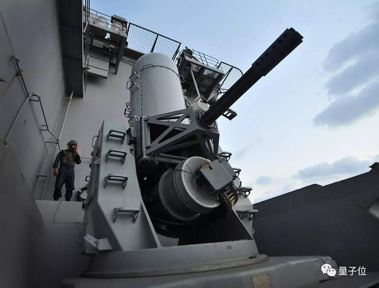 △美国海军的近程武器系统CIWS