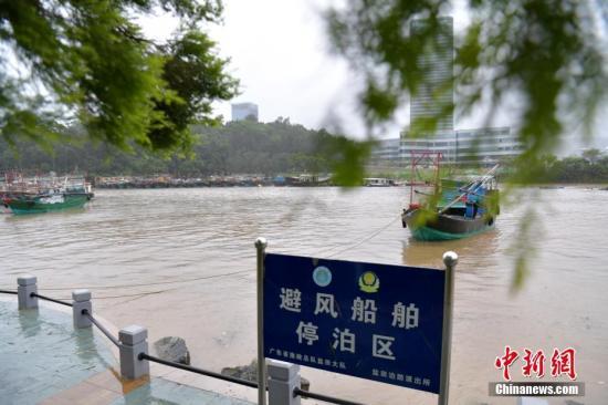 """""""帕卡""""致粤多地暴雨 有河流现超预警水位洪水"""
