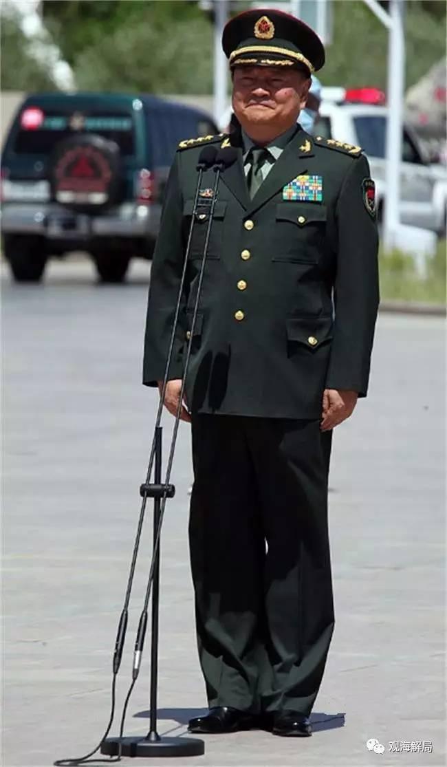 这几位中国现役将军 全都曾战场杀敌