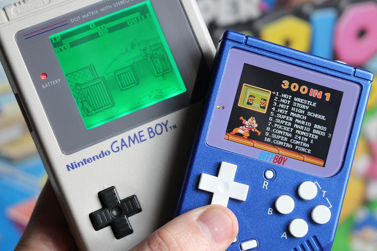 能玩任天堂 fc 游戏的 game boy 掌机,好像有点厉害