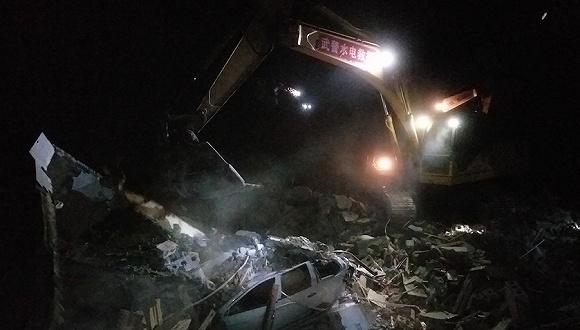 贵州纳雍山体崩塌已致3人遇难7人受伤 尚有32人失联