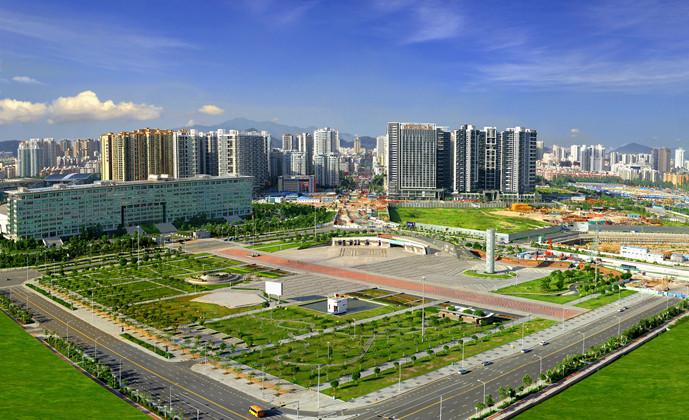 深圳宝安区西岸新城。图片来源:宝安政府在线