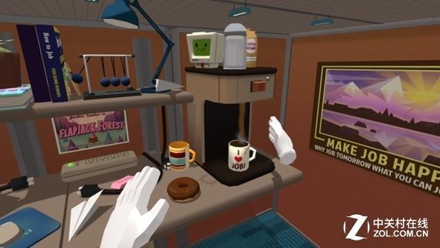 《办公室模拟》VR游戏