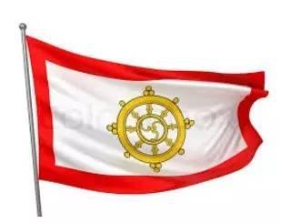 ▲图为锡金国旗