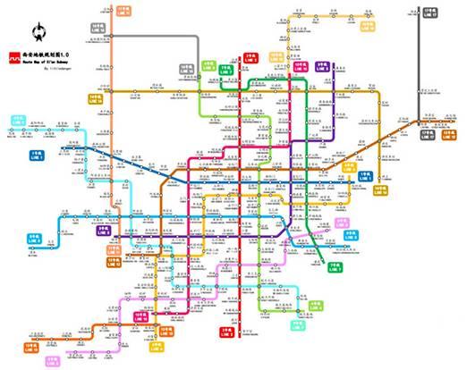 【快讯】西安地铁十一号线拟设17站 其中咸阳段共8个车站