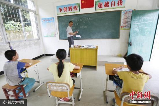 资料图:广东一民办学校。图片来源:视觉中国