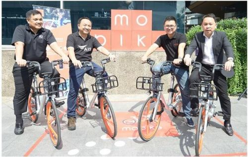继新加坡英国等4个国家之后 摩拜单车宣布进入泰国