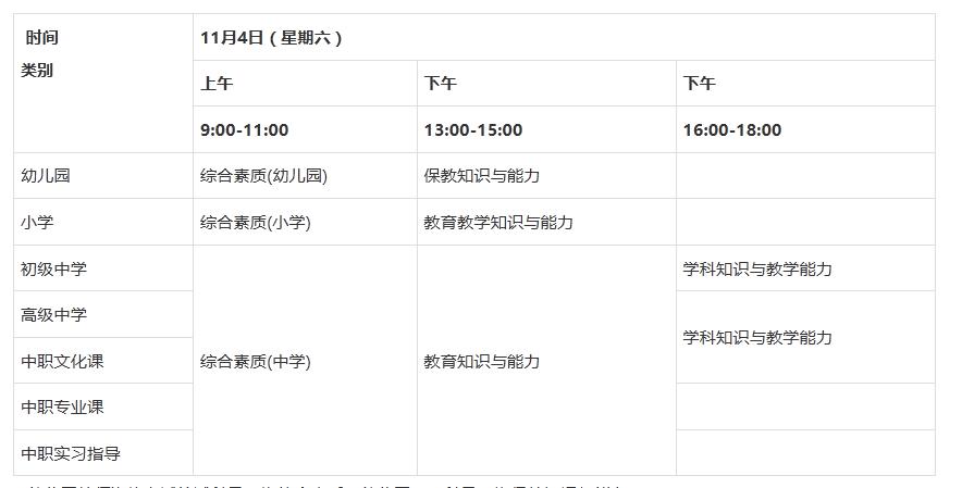 湖南中小学教师资格考试9月5日上学开始,这些小学v小学年级期数一报名学图片