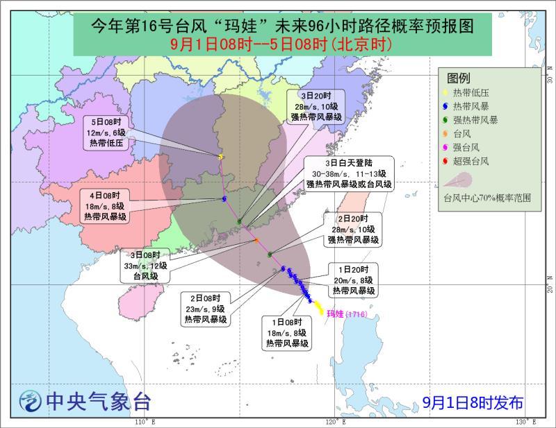 """预警!又一个台风""""盯""""上广东,后天登陆"""