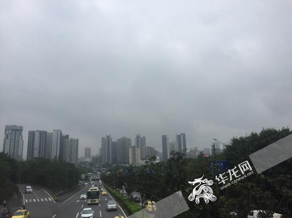 重庆未来三天局地仍有暴雨 后天全市气温将降至26℃