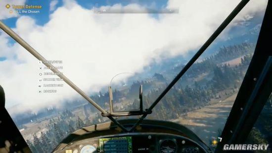 《孤岛惊魂5》开放世界演示 钓鱼打飞机,开擎天柱