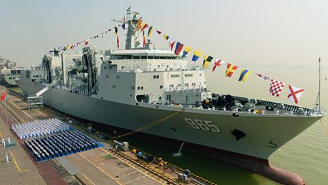 央视曝光中国航母编队最强阵容