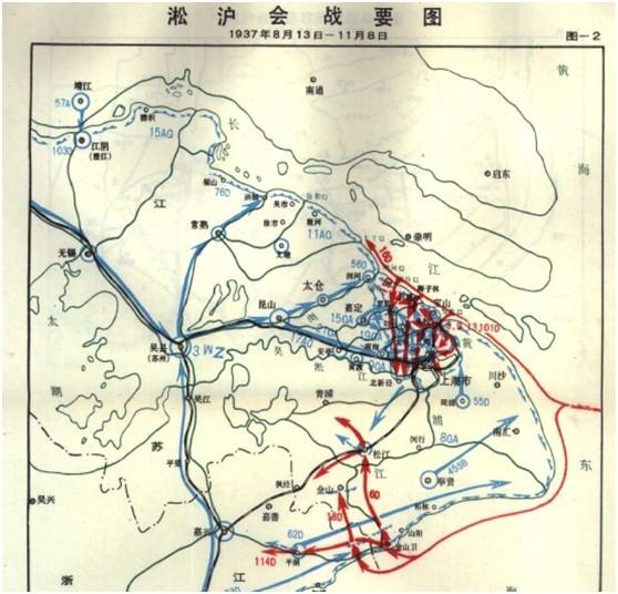 玉碎式的搏命战役:影响整个抗战大局的淞沪会战