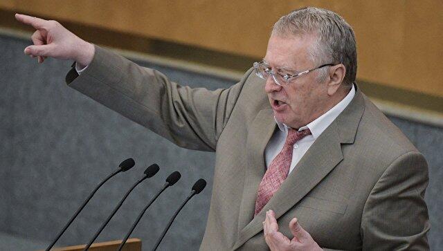 俄罗斯自由民主党主席弗拉基米尔•日里诺夫斯基