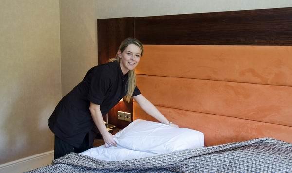 酒店客房打扫都应有着严格标准