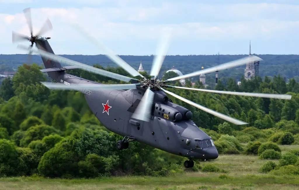 ▲2014年涂装版俄罗斯空军米-26直升机