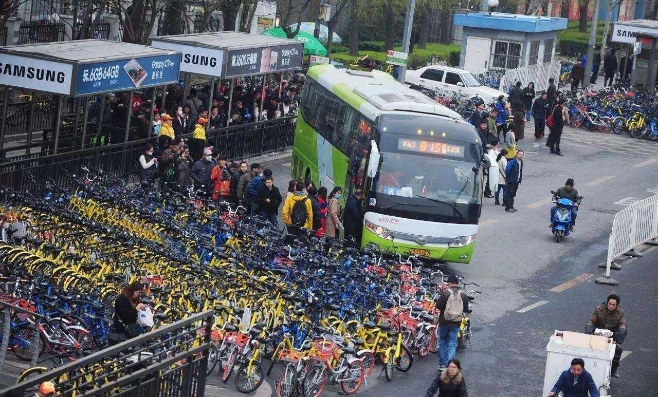 广州深圳福州郑州南京武汉等11个城市已宣布暂停新增共享单车
