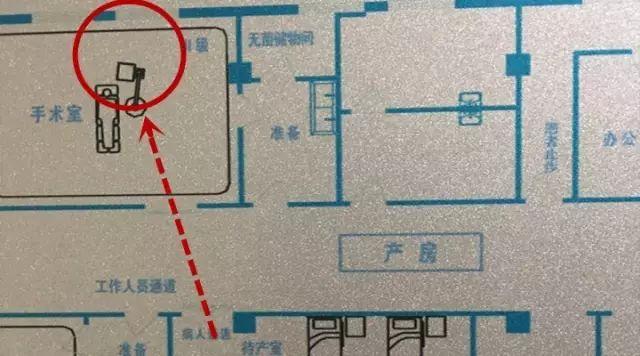 ▲产妇大年夜待产室走出,至备用手术室跳楼。来源:新京报