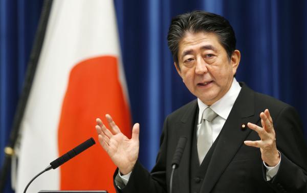 日本首相安倍晋三 视觉中国 资料