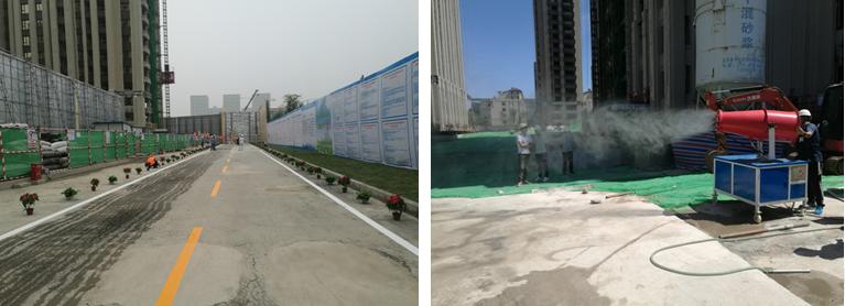北京施工现场扬尘治理实施24小时专人监管