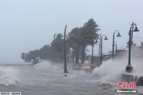 """联合国:近5000万人受飓风""""艾尔玛""""影响"""