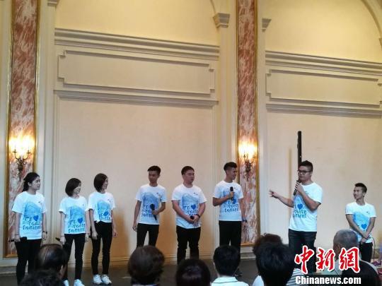 """沪港青年同台演绎阿卡贝拉""""音乐午茶"""" 共贺香港回归20"""