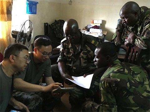 中国为塞拉利昂军队研发移动式传染病监测系统 一年监测8000余例传染病