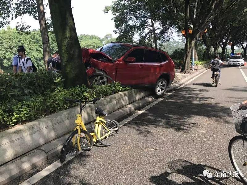 惨 西湖公园外,宝马车又撞死共享单车骑手 半年内,相同路段 手机新