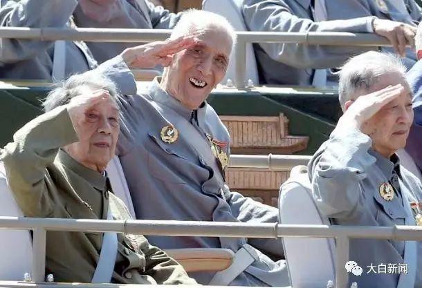 开国将军张玉华 93阅兵感动国人 将捐可用器官