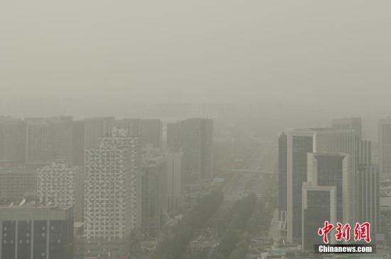 资料图:空气污染。中新社记者 崔楠 摄