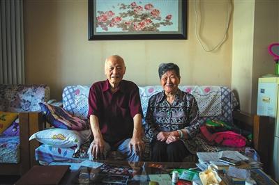 张国英老两口入住燕郊的养老院已近3年,对这里的生活已逐渐习惯。