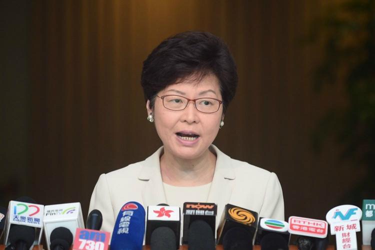 林郑月娥透露,选管会本周将磋商补选。(图源:星岛日报)