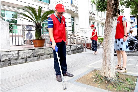 """梅列区人民法院开展""""党员志愿者..."""
