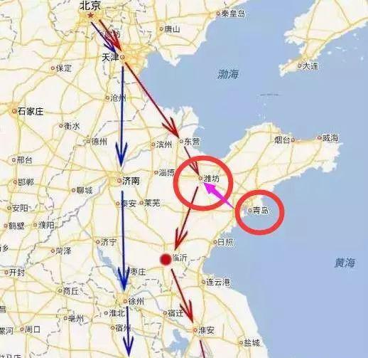 青岛到石家庄只要4小时!去太原5小时!这条线路春节前就开了!