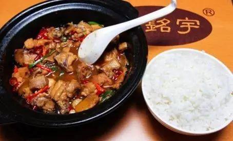▲图片来源:杨铭宇黄焖鸡米饭官网