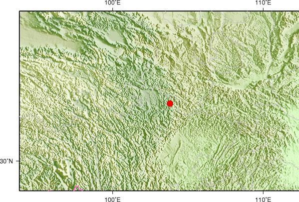 四川九寨沟县发生3.3级地震 震源深度23千米