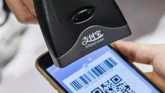 ▲支付宝等移动支付方式已成为中国人生活的一部分。