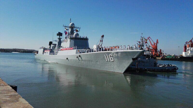 中俄海军将在日本海军演 首次进行联合反潜演练