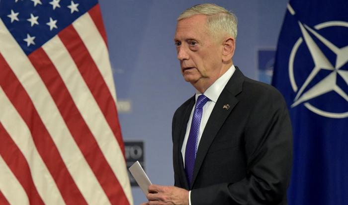 美国国防部长马蒂斯。(资料图 路透社)