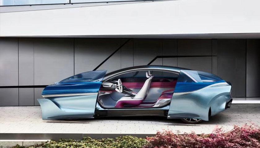借助这款概念车 宝沃汽车发布了未来战略