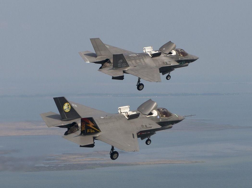 F-35B战机。(图:洛克希德马丁公司资料图)