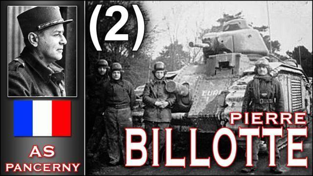 法国王牌坦克手皮埃尔·比洛特和他的夏尔B1bis重型坦克