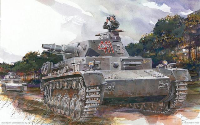 短75炮的IV号坦克