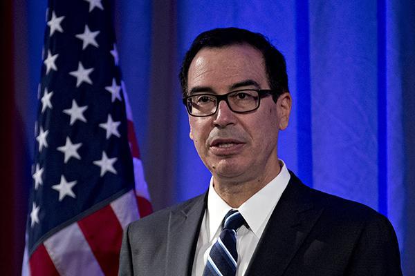 美财长:特朗普降企业税至15%不现实 今年要完成税改