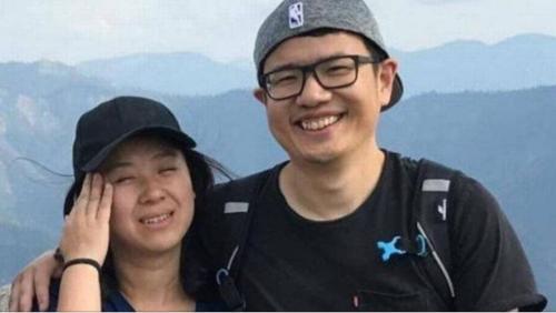 王易南与宋洁夫妇。(美国国家公园警方提供)