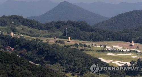 """韩媒称驻韩美军完成部署6辆""""萨德""""拦截约克海平专卖店弹发射车"""