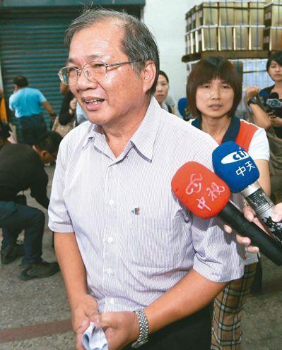 图为三年前案发时叶文祥出面致歉。(图片来源:台湾联合新闻网)